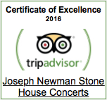 Stone House Concerts rated on TripAdvisor.